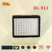 Pixel DL-911 Wedding Recording LED Video Light Photo Lighting on Camera Hotshoe Lamp Lighting for Canon Nikon Camcorder DV DSLR