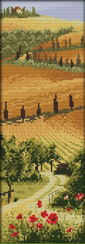 11CT 20x50 <font><b>Italian</b></font> manor counted print on canvas similar DMC11CT Cross Stitch Embroidery kits Needlework Free Shipping