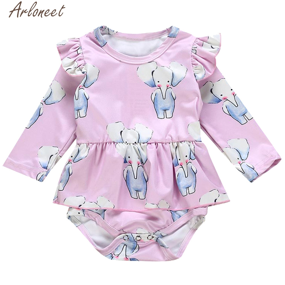 Arloneet Infant Girls Boys Outfits Animal Print Baby Girl Clothes Newborn Baby Girl Clothes Christmas Rompers Jumpsuit High Standard In Quality And Hygiene
