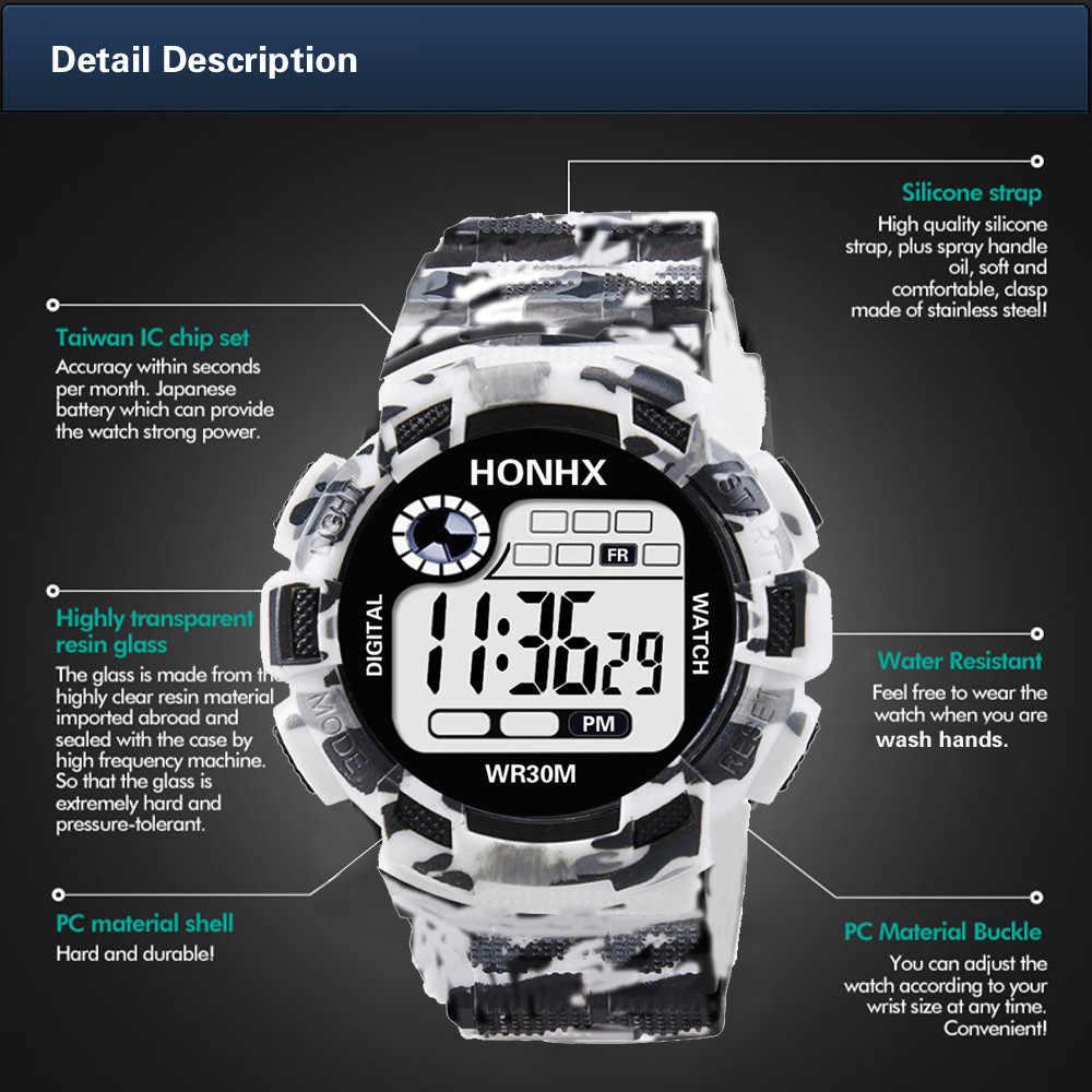 Camuflagem militar do exército dos homens relógio digital g estilo display led luxo choque esporte relógios masculinos relógios de pulso eletrônicos quente #5/22