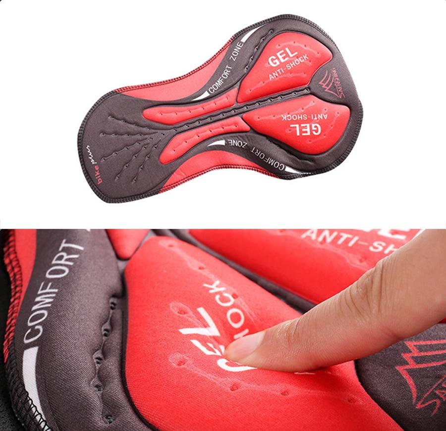 Newboler ανδρικά σορτς ποδηλασίας με προστατευτική επιφάνεια από τζέλ. Μεγέθη 5d με 20d msow