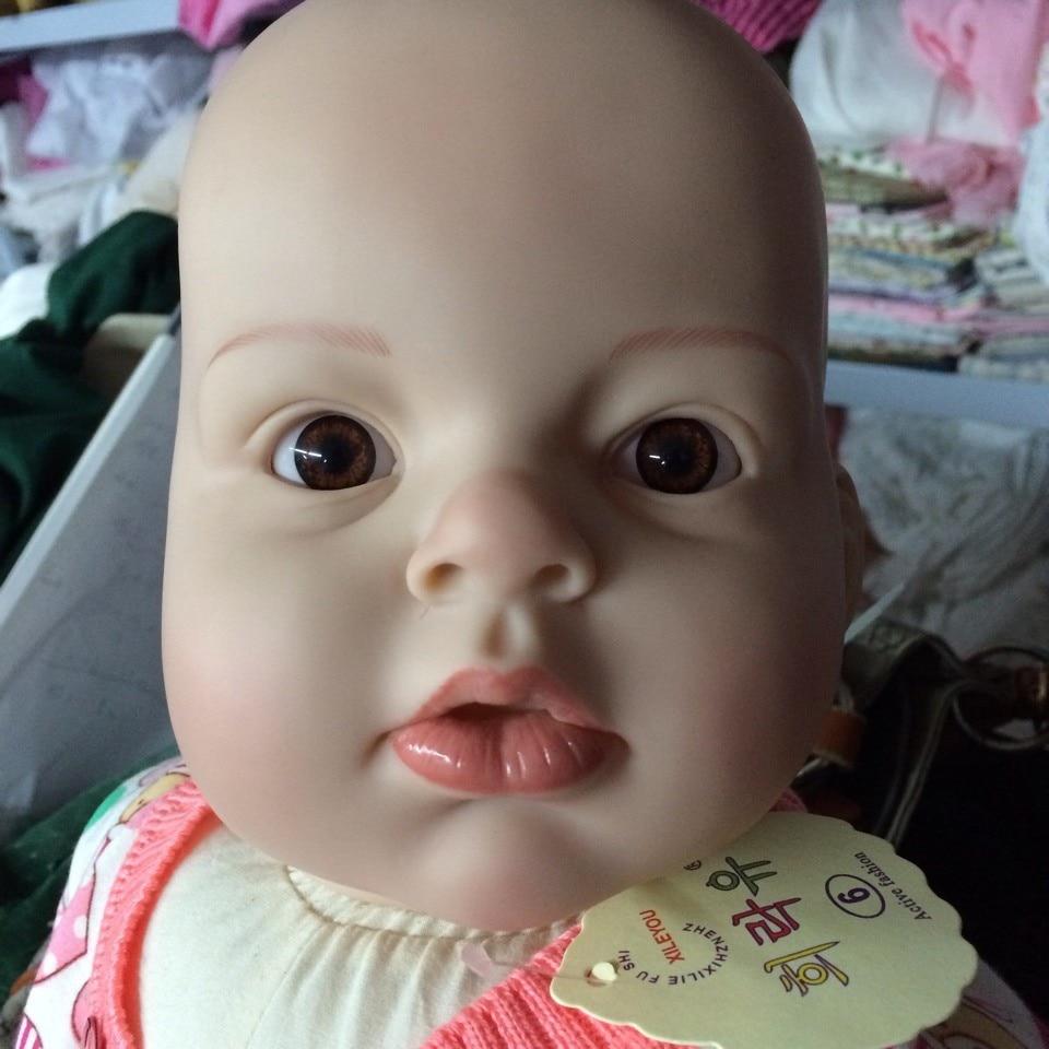 Arianna Awake Vinyl Toddler Doll Kit By Reva Schick Reborn