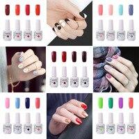 15ml Hot Sale Nail Gel Color Set Clou Beaute 4pcs Set UV Led Nail Polish Gel