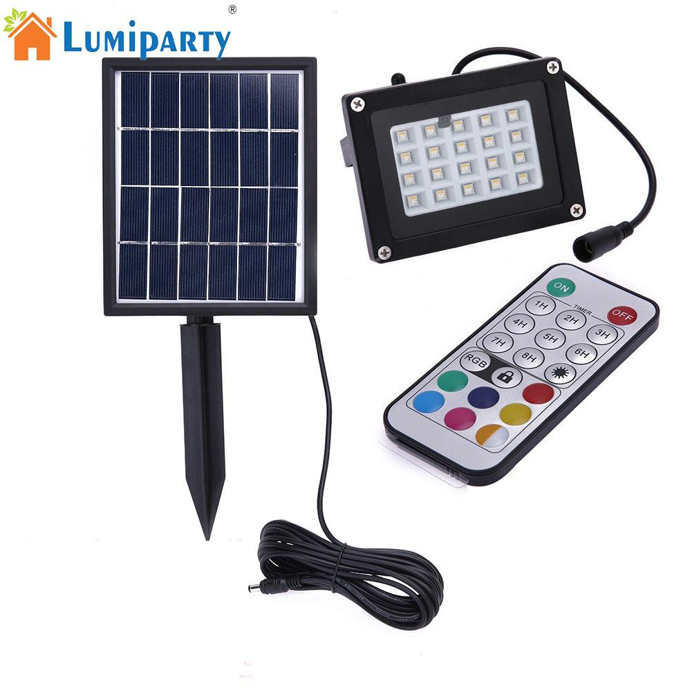 Buy lumiparty outdoor waterproof solar - Remote control exterior light switch ...