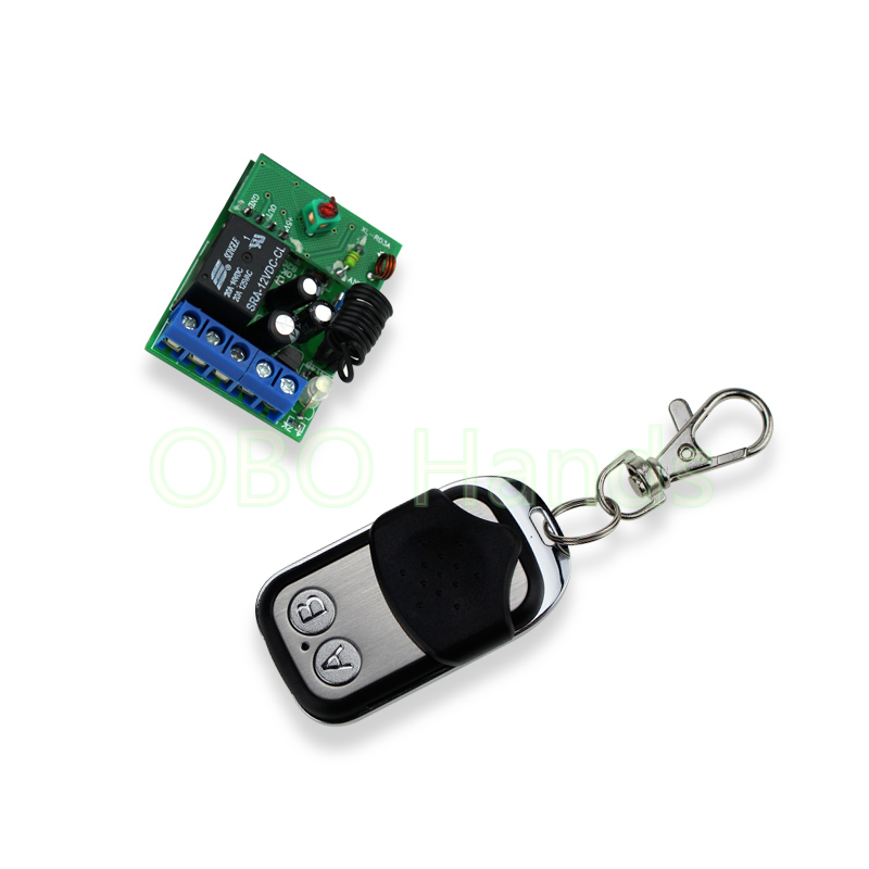Metal single door remote control Wireless Remote Control Remote Switch For Door Lock Access Control System