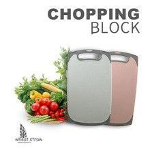 NEU! küche Kochen Werkzeuge Umweltfreundlich Abbaubaren Weizenstroh Material Schneidebrett Lebensmittel Cut Kleine Größe Schneidebrett Blöcke