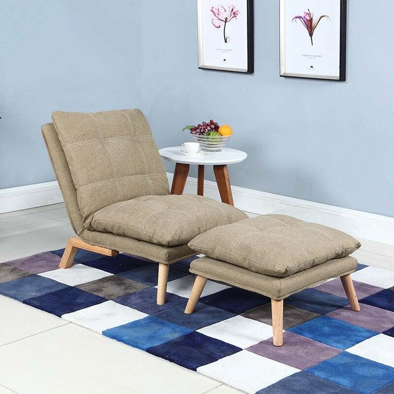 Moderne Klapp Chaiselongue Sofa Japanischen Stil Faltbare Einzel Bettsofa 3 Farbe Wohnzimmer Mbel Sessel Daybed