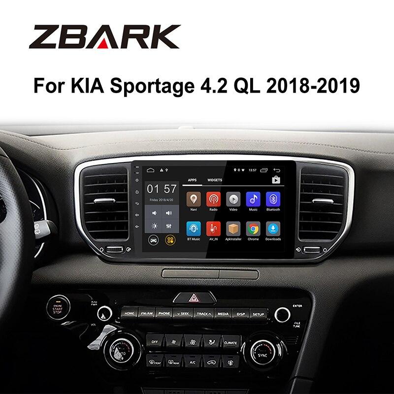 Lecteur multimédia d'autoradio Android 9.0 RAM 2G pour KIA sportage 2018 2019 KX5 gps navigation 2 autoradio din