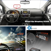 Car HUD Head Up Display For Nissan Frontier GT-R Juke March Maxima - Saft Driving Screen Projector Refkecting Windshield