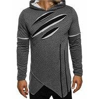 Men Hoodies 2017 Autumn New Fashion Male Black Green Gray Casual Hoodies Sweatshirt Men S Zipper