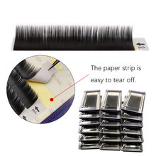 New 12 Rows D curl 0.20mm eyelash 8-13mm extension 3d mink lashes  fake eyelashes