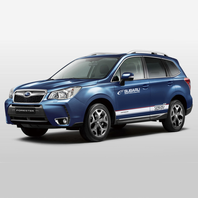 TAIYAO car styling sport car sticker For Subaru 2018 Forester Mark Levinson car accessories and decals auto sticker