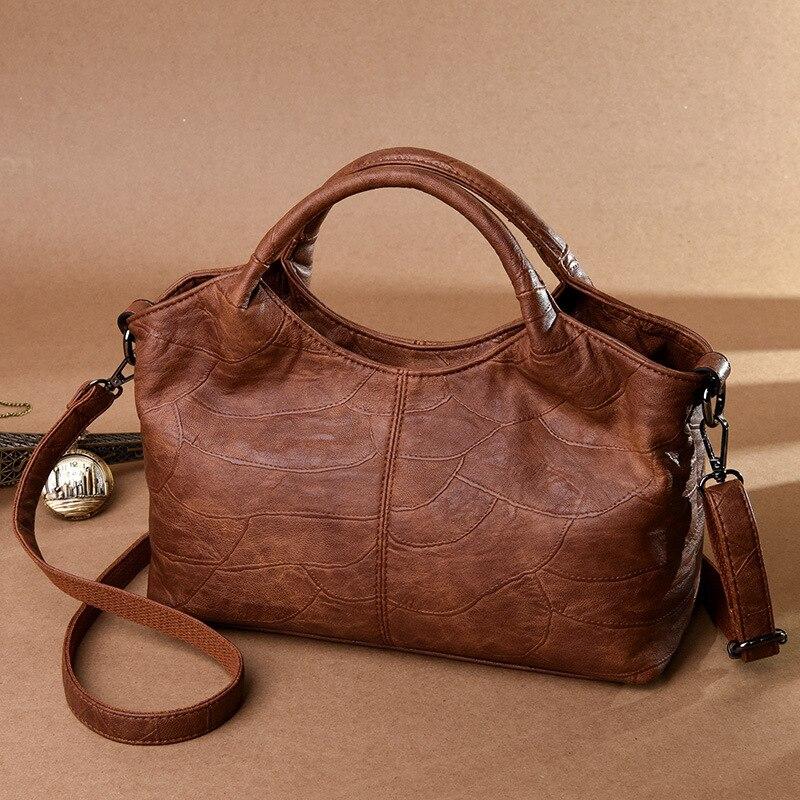 Wholesale women's bag 2019 new handbag Korean fashion retro shoulder bag trend handbags free