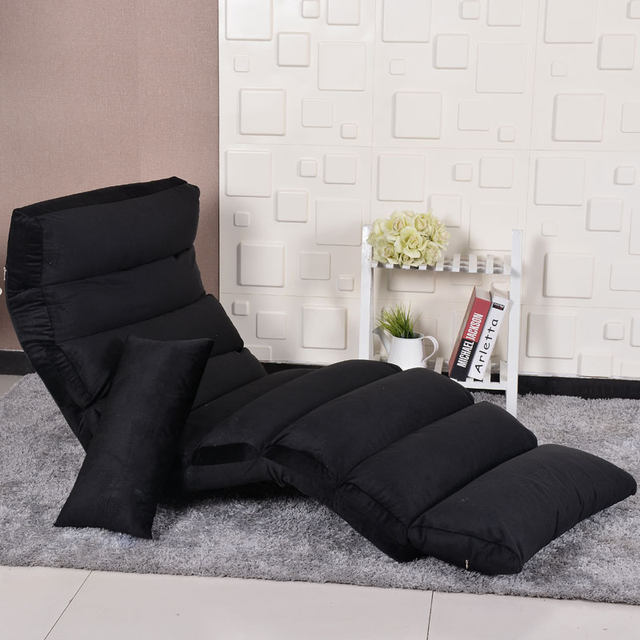 Modern Floor Seating Furniture Living Room Chair Lazy Day Bed Sleeper Adjule Leisure Recliner Chaise Lounge Folding Sofa