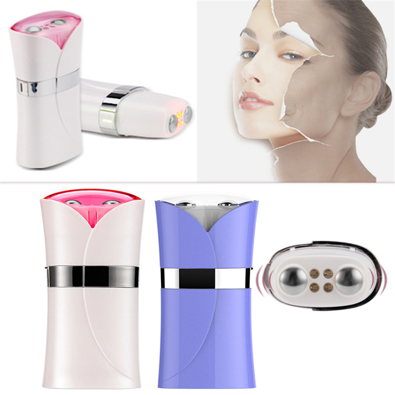 New Anti-wrinkles Firming Vacuum Black Head Removing Instrument EMS Red Light Vibration Massager Face Skin Care Beauty Apparat