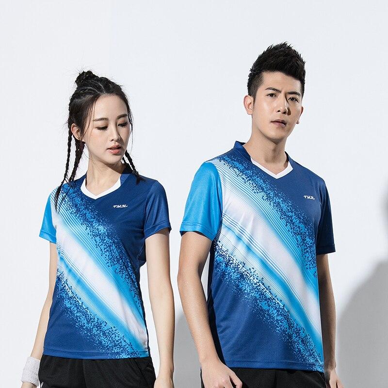 2018 New Badminton wear shirts Men / Women , sports badminton clothes , Tennis clothes , Tennis shirts Male #2611