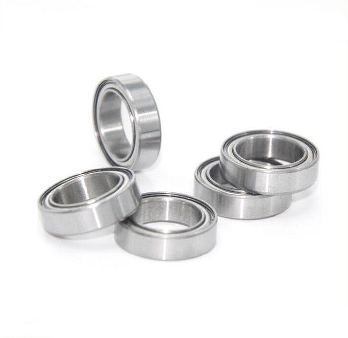5 PCS 440c Stainless Steel Metal Ball Bearing 15x21x4 mm S6702zz 6702zz
