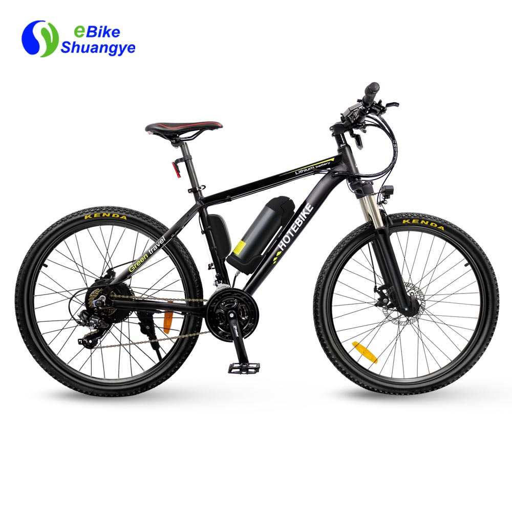 Electric Mountain Bike 350w 36v Ebike 26 U0026quot  With Bottle
