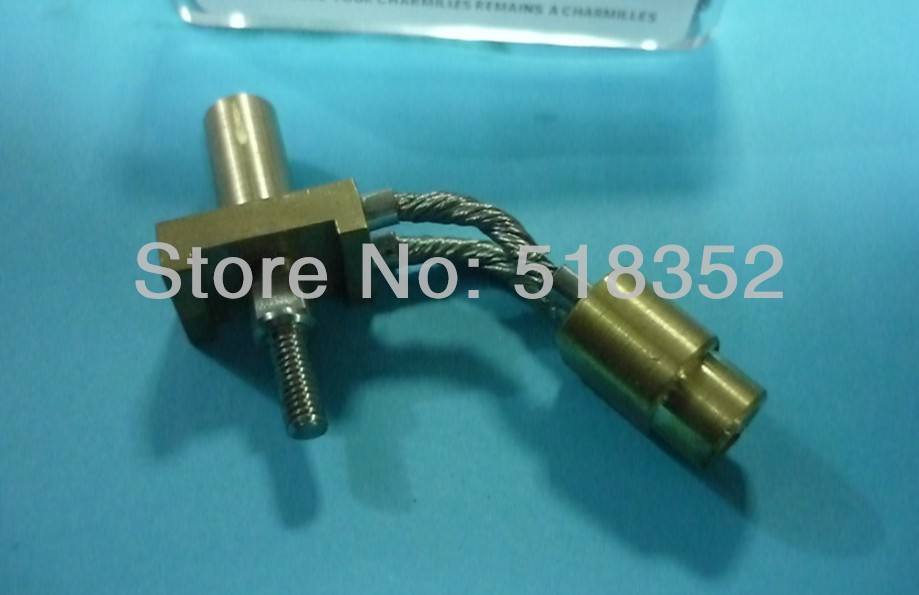 104447530 Charmilles Soldered Connections Assembly Support to Power Feed Contact for  WEDM-LS Wire Cutting Machine Parts  цены