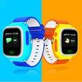 Posicionamento gps q90 touch screen wi-fi smart watch crianças chamada sos localizador dispositivo monitor de rastreador kid safe anti perdido