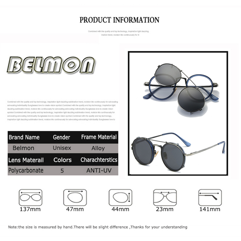 Image 2 - Steampunk Googles Eyeglasses Spectacle Frame Men Women With Polarized Clip On Sungllasses For Female Male Vintage Glasses RS170frames menspectacle frame manspectacle frame -