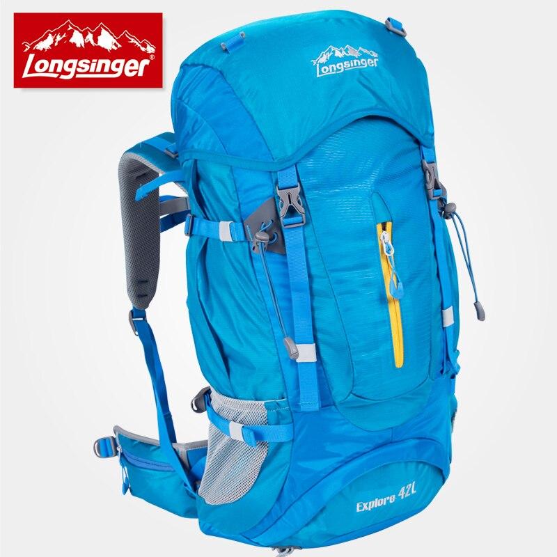 En plein air sac à dos d'alpinisme professionnel sac 42l grande capacité voyage à dos de randonnée camping sac à dos