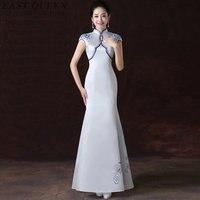Ao dai dresses vietnam clothing oriental style cheongsam qipao modern Chinese style dress AA4032