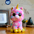 6'' ty beanie boos plush Symphony version Unicorn doll Meng Meng cute pony plush toys gifts25cm stuffed toys