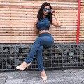 2016 Women summer Sexy Jumpsuit New Fashion Clubwear Bodycon Bodysuit Bodywear Playsuits 2 pieces Vesitdos Club Long Jumpsuits