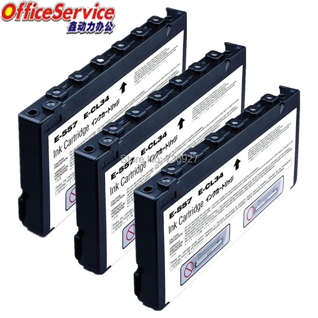 3x Compatible Ink Cartridge T557 T0557 For Epson Picture Mate 500