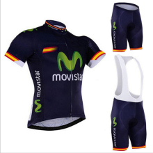 2016 Hot Movistar Cycling Jersey/Quick-Dry Racing Bike Clothing/ Bicycle Cyle Clothes Wear Ropa Ciclismo Coolmax bib Pants