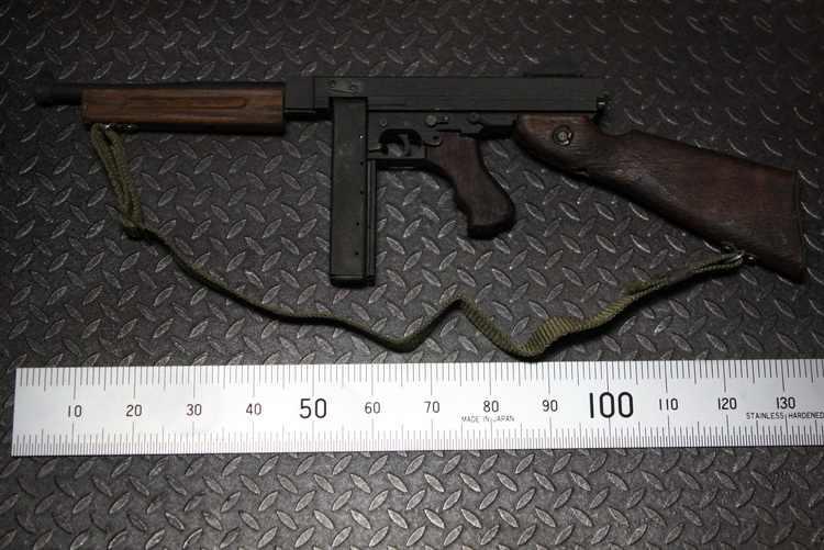 Ti-lite T8015 1/6 Thompson M1A1 Submachine Gun Gun Model Weapons Props for  12