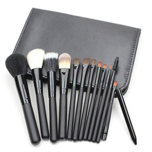 12pcs/bag profesional cosmetic brush beauty tools cleaner kit blending oval set powder trucco eyeshadow kabuki sgm naked sets