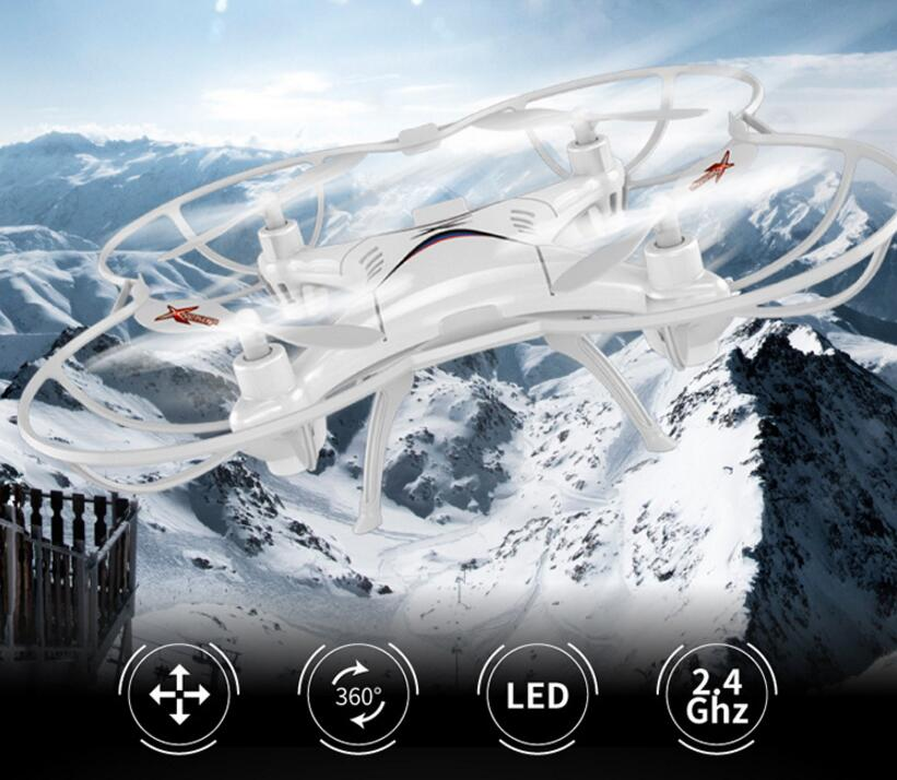 Children RC MINI quadcopter <font><b>A2</b></font> 2.4g 6axis headless mode 3D stunt roll radio control helicopter rc quadcopter with LED <font><b>light</b></font> gift image