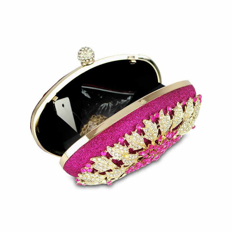 Женский клатч с цветными бриллиантами для свадебного торжества, Круглый клатч, сумочки для туалетных принадлежностей и сумочки, вечерние сумки через плечо