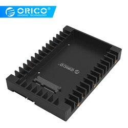 Стандартный жесткий диск ORICO 1125SS 2,5-3,5 дюйма, Caddy SATA 3,0, быстрая скорость передачи-черный
