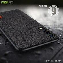 Xiaomi Mi9 kılıf Xiaomi Mi 9 SE durumda kapak MOFi Xiaomi Mi 9 kaşif durumda arka kumaşlar yumuşak tam kapak iş çantaları