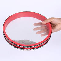 Tambourine Ocean Wave Bead Drum Sea Sound Music Instrument Toys for Baby Kid Child Early Learning Music bead