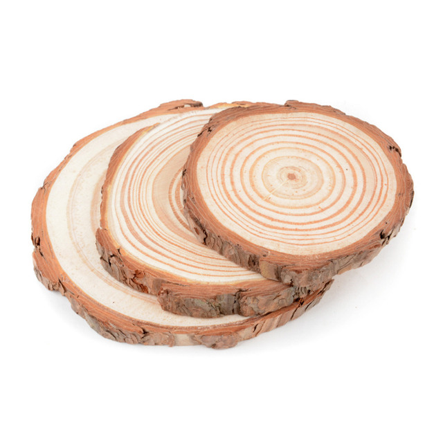 Round Wooden Cup Coaster