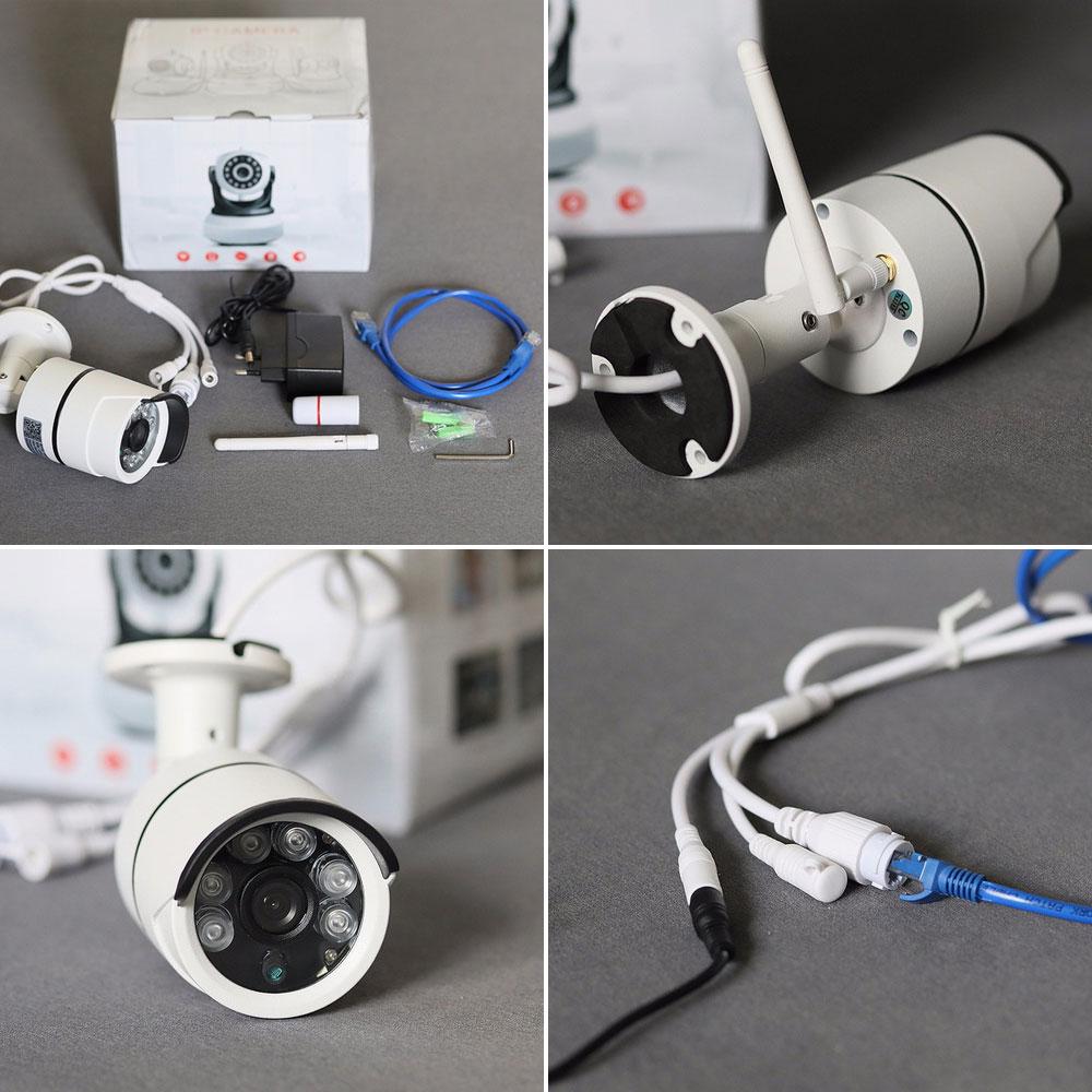 SDETER Vattentät Bullet IP-kamera utomhus Wifi Trådlös - Säkerhet och skydd - Foto 4