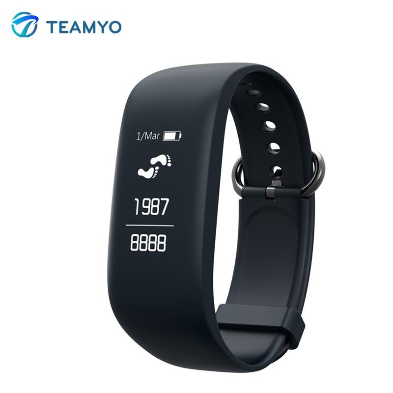 Teamyo Z08 Smart wristband Heart Rate Monitor Cardiaco Pedometer Fitness Tracker Smart Bracelet IP67 Waterproof Bluetooth s908 heart rate smart wristband gps track record smart band 2 sleep pedometer bracelet fitness tracker h908 smart watch relogio