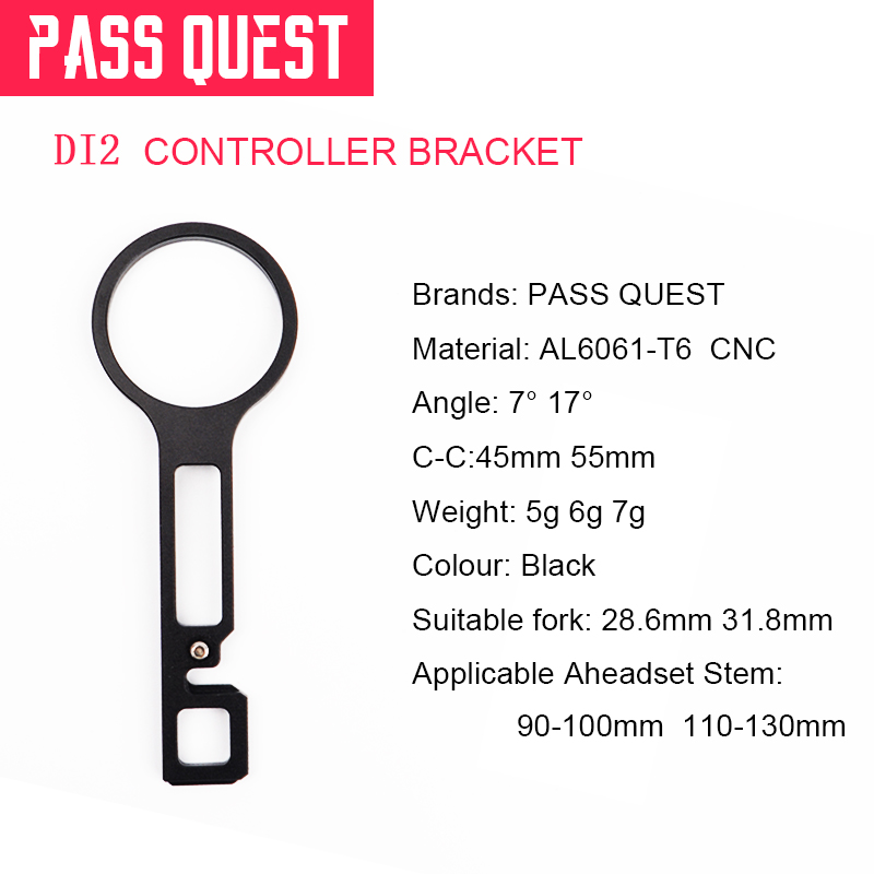 """Di2 Junction Mount 31.8mm 1 1//4/"""" for Giant OD2 Headset  6° 17° Fouriers"""