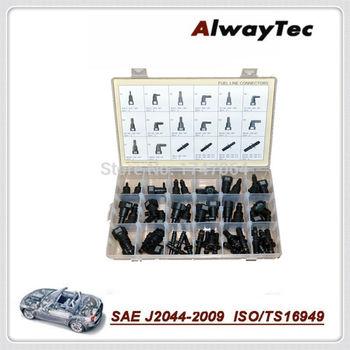 Car styling uniwersalny przewód paliwowy zestawy naprawcze szybkie złącza wąż 800-587M OE jakość przewód paliwowy szybkie złącze zestawy naprawcze tanie i dobre opinie AlwayTec Zbiorniki paliwa 0 45kg fuel line quick connector 15cm 1995-2017 6 3MM 7 89mm 9 49mm 9 89mm Iso9001 25cm PA12 Universal
