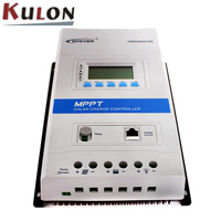 EPever TRIRON 4215N+DS2+RCM with RS485 40A Solar Charge Controller LCD Modular Solar Regulator Negative Grounding