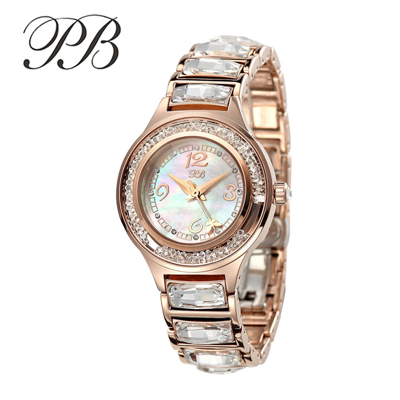 Famous Brand PB Business Watch Women Designer Oyster Gold ...
