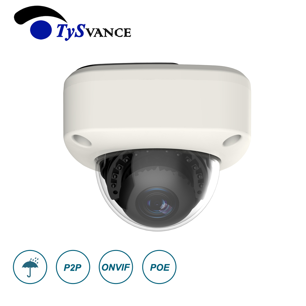 HD 2MP 1080P Security POE MINI Dome IP Camera Metal Network Camera Video Surveillance 2.0MP IP66 Home IR CCTV Indoor P2P ONVIF цены