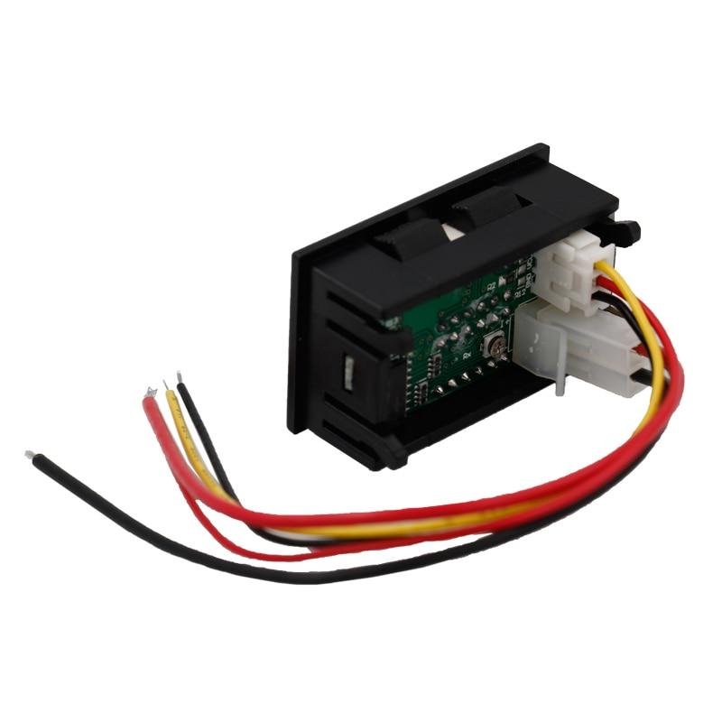 Nuevo 0.28 pulgadas Pantalla bitual de 4 bits Amperímetro - Instrumentos de medición - foto 4