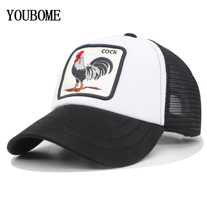 e9ebe914a99de YOUBOME Brand Baseball Cap Men Snapback Caps Women Hats For Men Hip Hop Mesh