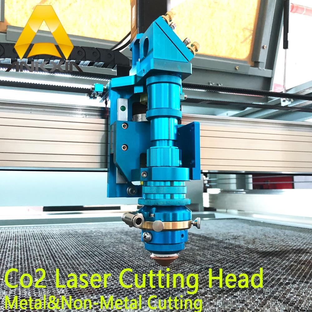 150W To 500W Co2 Laser Metal Cutting Head For Metal Non-Metal Cut Auto Focus Hybrid Machine