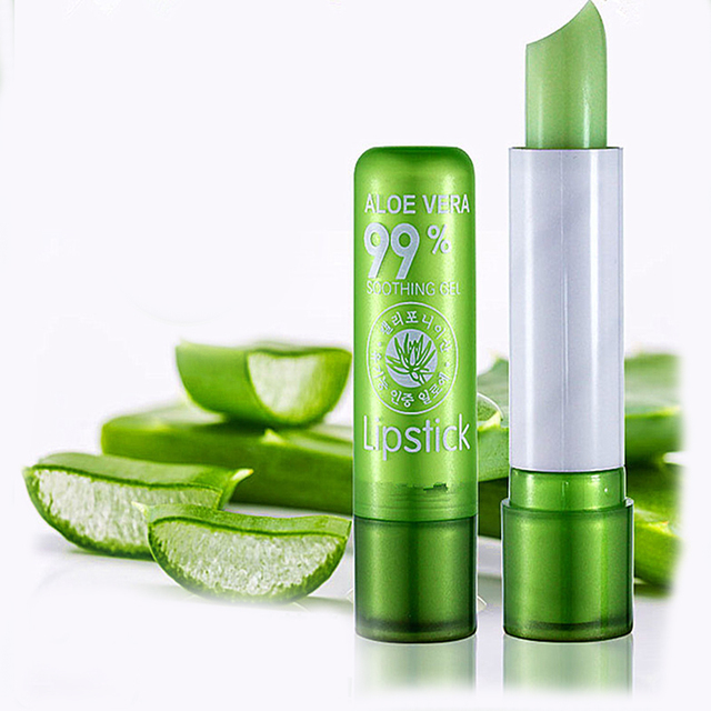 Women Girls Aloe Vera Moist Lipstick